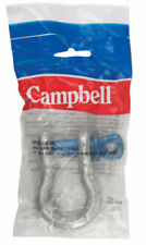 Campbell Chain  Galvanized  Forged Steel  Anchor Shackle  Silver  3-1/4 ton 1 pk