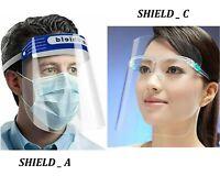 Glasses Design Face Shield Visor Protection Mask Sheild Safety Clear PPE UK FAST