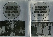 """""""HISTOIRE SONORE 2ème GUERRE MONDIALE 1939-45"""" 12 LPs 33 tours français (MINT)"""