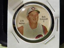 1962 Salada Baseball Coin #179-Catcher Bob Schmidt   Rare