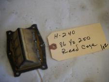YAMAHA 1986 YZ250 REED BLOCK H-240