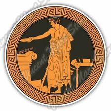 Ancient Greek Dish Mythology Myth Greece Car Bumper Vinyl Sticker Decal 4.6""