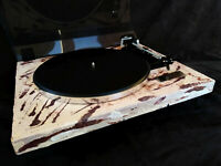 """Turntable Plattenspieler """"SAHARA COLOURS"""" Techical Art by MSO with Dual Drive"""