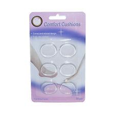 6 a forma ovale in silicone gel FOOT PADS Cuscino Solette per Tacchi Alti Scarpe