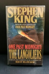 One Past Midnight: The Langoliers by Stephen King 1990, Audio Book 6 Cassettes