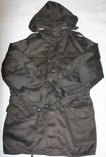 Military M65 Style Field Jacket, Dark Olive/Brown Sz M (Regular Medium)