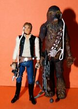 STAR WARS LEGACY HAN SOLO & CHEWBACCA MILLENNIUM FALCON PILOTS LOOSE COMPLETE