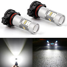JDM ASTAR 2x 2400LM 5202 5201 3020 LED Fog Light Driving Bulbs Xenon White 6000K