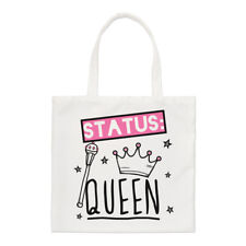 Stato Queen Small Tote Bag-Girly Ragazze Divertente shopper spalla