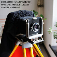 Dark Cloth Focusing Hood For 5X7 8X10 Large Format Camera Wrapping 150cm