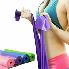 1.5m Resistance Bands Exercise Stretch Pilates Yoga Physical Therapy Gym Fitness