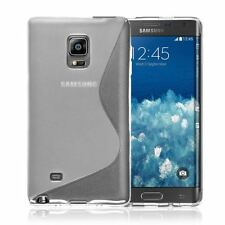 Cover e custodie Per Samsung Galaxy Note transparente in silicone/gel/gomma per cellulari e palmari