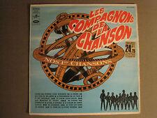 COMPAGNONS DE LA CHANSON NOS 1 RES CHANSONS LP SCTX 340188 FRENCH POP GEM