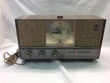 General Electric Dual Speaker Vintage Am Radio Alarm Clock Model (C-1452A) EtopC