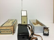 VTG Nivico all transistor citizen band Transceiver TCR-125 JAPAN AS IS PARTS OR