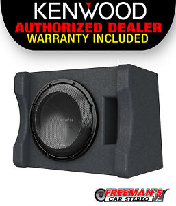 """Kenwood P-XW1241S Single 12"""" Subwoofer Vented Enclosure, 300W RMS Power"""