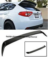 For 08-14 Subaru WRX STi Hatchback Rear Add On Wagon Wing Lip Spoiler Extension
