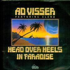"7"" Ad Visser feat. Elena/Head Over Heels in Paradise (D)"
