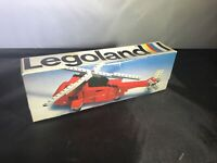 Vintage Lego 70's 480 691 Rescue Helicopter Fire with Box intsructions pat. Pend