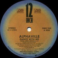 ALPHAVILLE Dance With Me (1986 U.S. 2 Track Promo 12inch)