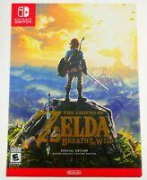 Legend Of Zelda: Breath Of The Wild Special Edition Nintendo Switch SEALED NEU