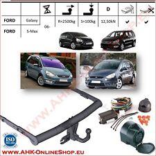 Gancio traino Ford Galaxy / S-max 2006-2015 + elettrico 13-poli PDC OMOLOGAZIONE