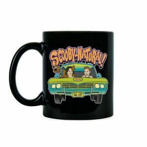 Scoobynatural Scooby-Doo Supernatural Dean Sam Winchester Coffee Mug Tea Cup
