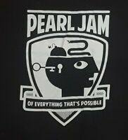 Pearl Jam of everything 2014 US Tour T-Shirt Eddie Vedder Medium w dates cities