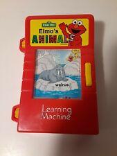 Vintage Tyco Sesame Street Elmo's Animal Learning Machine Toy
