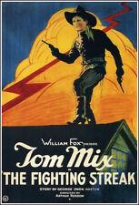 "1922 The Fighting Streak Tom Mix Movie Poster  Replica 13x19"" Photo Print"