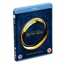 THE LORD OF THE RINGS - RETURN OF THE KING (EXTENDED) [BLURAY] NEW & SEALED