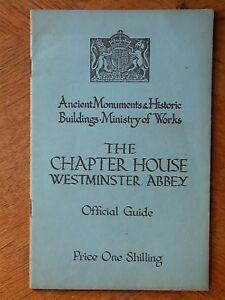 Abbaye de Westminter Chapter house Londres Roi Reine