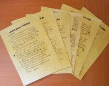 RITORNO AL FUTURO 3 - LETTERA DI DOC DAL WEST NEL 1885 A MARTY NEL 1955, REPLICA