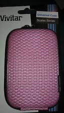 New Vivitar camera case universal camera case pink scales series shoulder strap