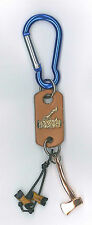 SCOUTS OF CHINA (TAIWAN) - Scouts Leader 2 Beads Woodbadge, Axe & Log Key Hanger