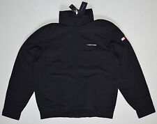 NWT TOMMY HILFIGER men's Yacht Jacket, S, Small, color Black, Hood, Full Zip