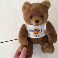 2000 Hard Rock Cafe Phoenix Teddy Bear ~ T shirt ~ 9 in. tall sitting