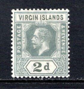 British Virgin Islands KGV 1913-19  2d. Grey SG71 LM/Mint