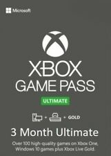 Xbox Game Pass Ultimate Codes | Live Gold | 3 Months / 6 x 14 Day | 24/7 INSTANT