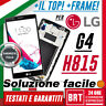 DISPLAY LCD+TOUCH SCREEN+FRAME ORIGINALE PER LG G4 H815 H810 H811 SCHERMO VETRO!