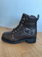 Harley-Davidson ® Boots Herren Stiefel Pierce brown Gr. 42/US9 NEU Waterproof!