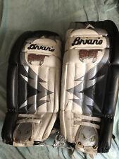 "Used Brians Goalie pads 32"" + 2� Air Pac Beast Hockey Leg Pads"