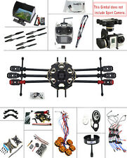 2.4G 9CH RC PX4 GPS FPV 680PRO Hexacopter 6-Axle Kit ARF Drone MINI3D Pro Gimbal