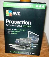 AVG Protection Internet & Antivirus 2017 Unlimited PC/Mac/Android - 2 years