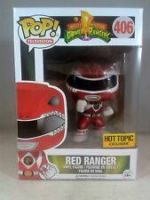 Funko Television 406 Metallic Red Ranger Hot Topic Exclusive 2016 Power Rangers