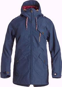 Roxy Damen Parka Jacke Winterjacke Gr.S (DE 36) Thinsulate 15000 Skijacke 96837