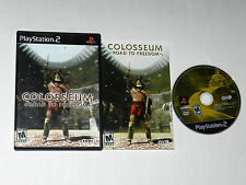 Colosseum Road to Freedom Sony Playstation 2 PS2 Video Game Complete