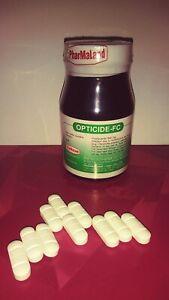 Praziquantel 600mg - Opticide Fc -10 tablets