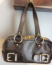 Banana Republic - BLACK Genuine Cow Leather HOBO Shoulder Tote Purse Handbag