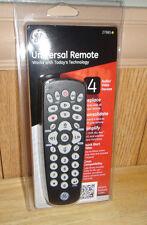GE Universal Remote 4Device TV VCR Cable DVD DTV Digital Converter Box Remote